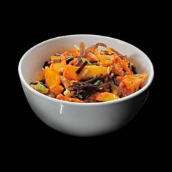 Salade de calamars marinés