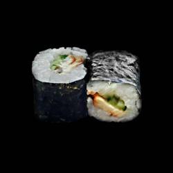 Maki Anguille concombre - 6 pièces.
