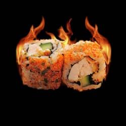 California Spicy poulet samuraî avocat - 6 pièces.