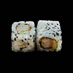 California Crevette tempura samuraî avocat - 6 pièces.