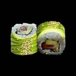 Avocat roll saumon - 8 pièces