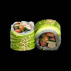 Avocat roll végétarien - 8 pièces.
