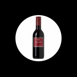 Vin Rouge JUST Merlot 25cl