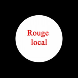 Vin Rouge local 75cl