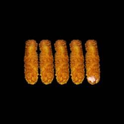 Saumon tempura - 5 pièces.